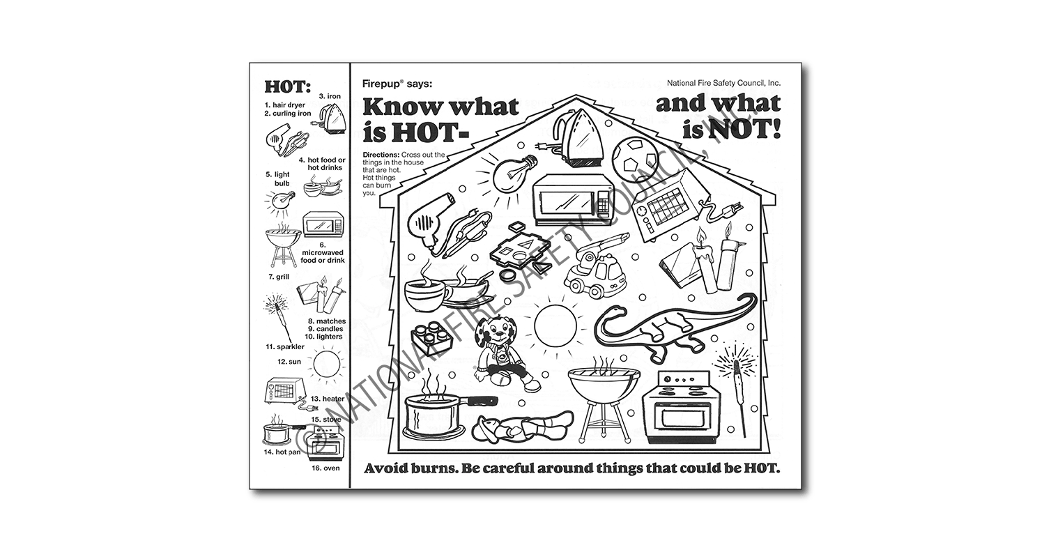 346F: Know What is HOT- and what is NOT! Color / Activity