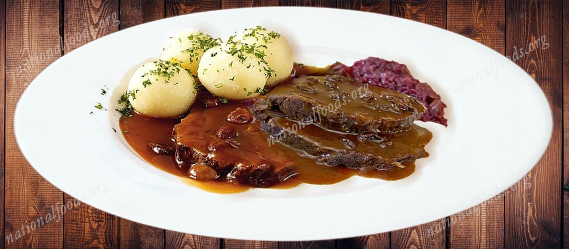 National Dish Germany – Sauerbraten