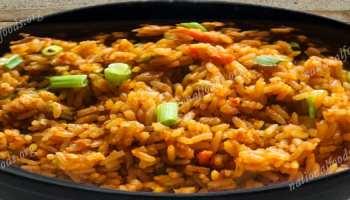 National dish of ghana jollof rice