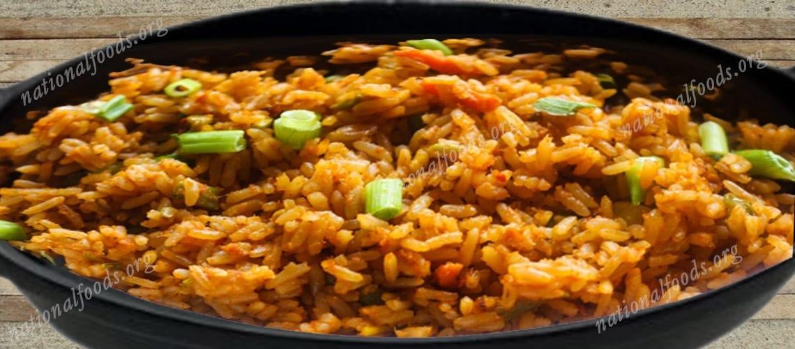 National Dish of Ghana – Jollof Rice