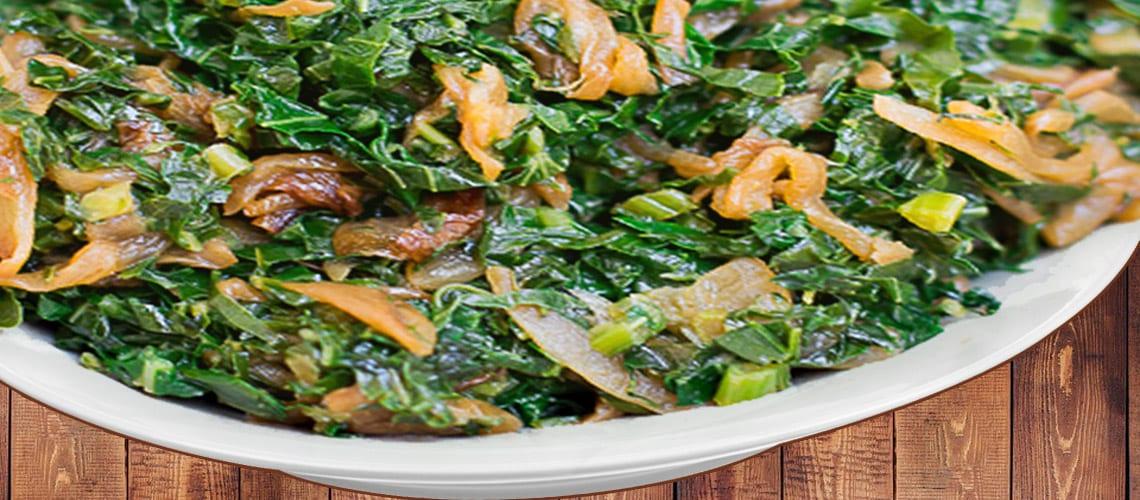 National Dish of Kenya Sukuma Wiki