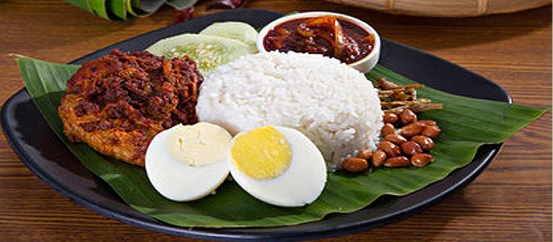 National Dish of Malaysia – Nasi Lemak