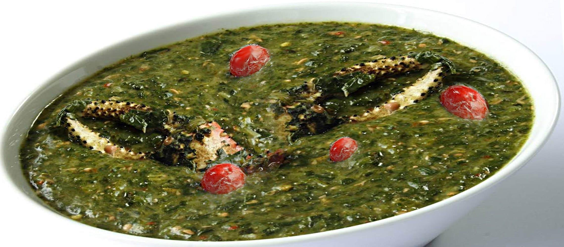 National Dish Of Trinidad Tobago Callaloo National Dishes Of The World