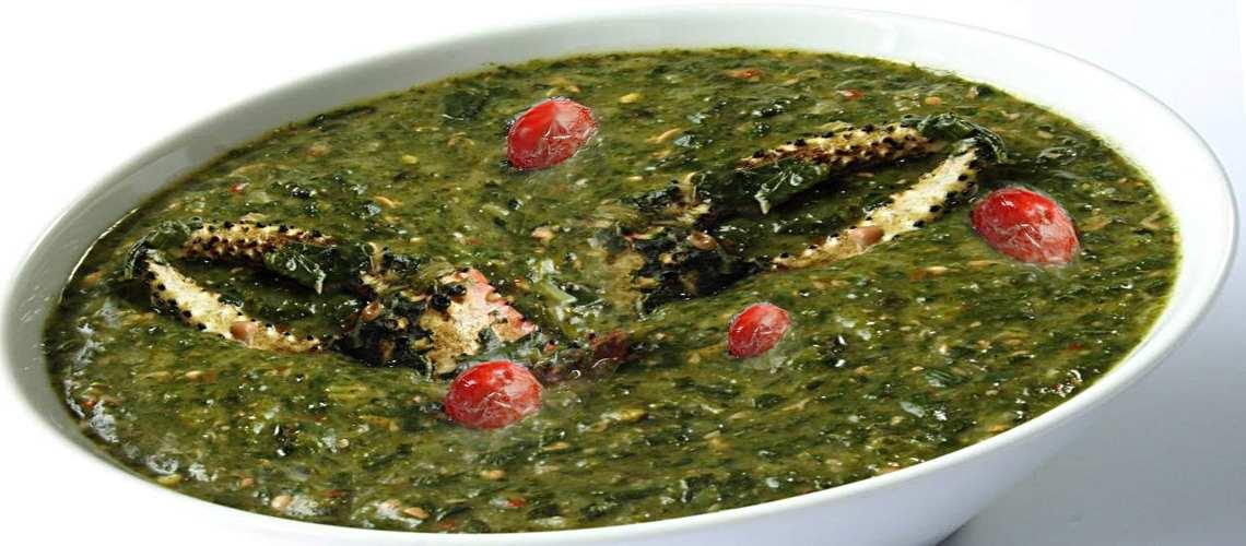 National Dish of Trinidad & Tobago Callaloo