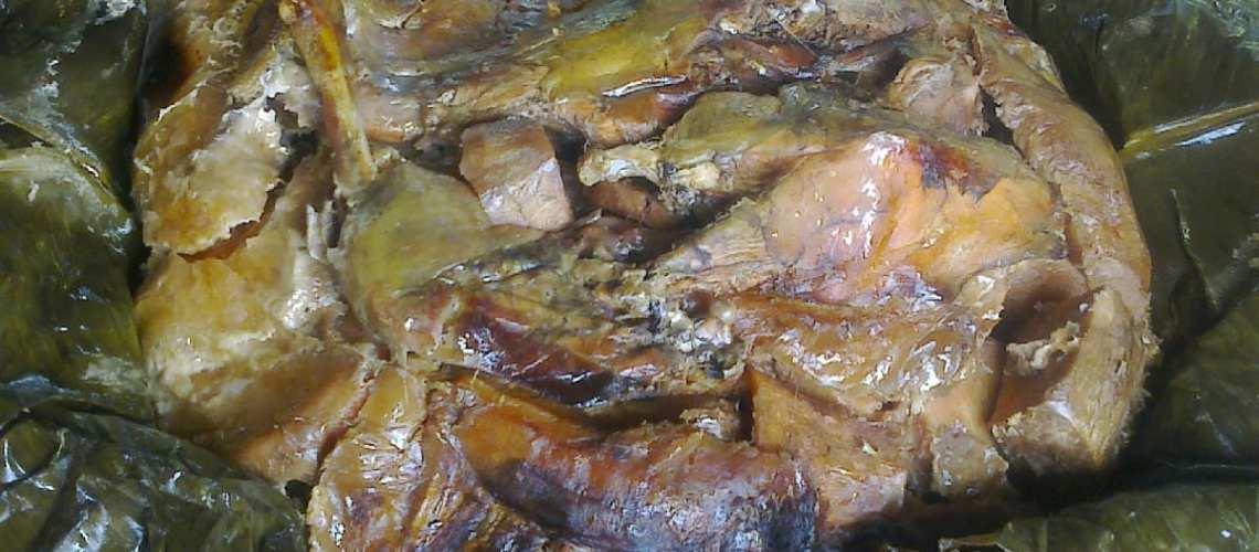 National Dish of Papua New Guinea Mumu