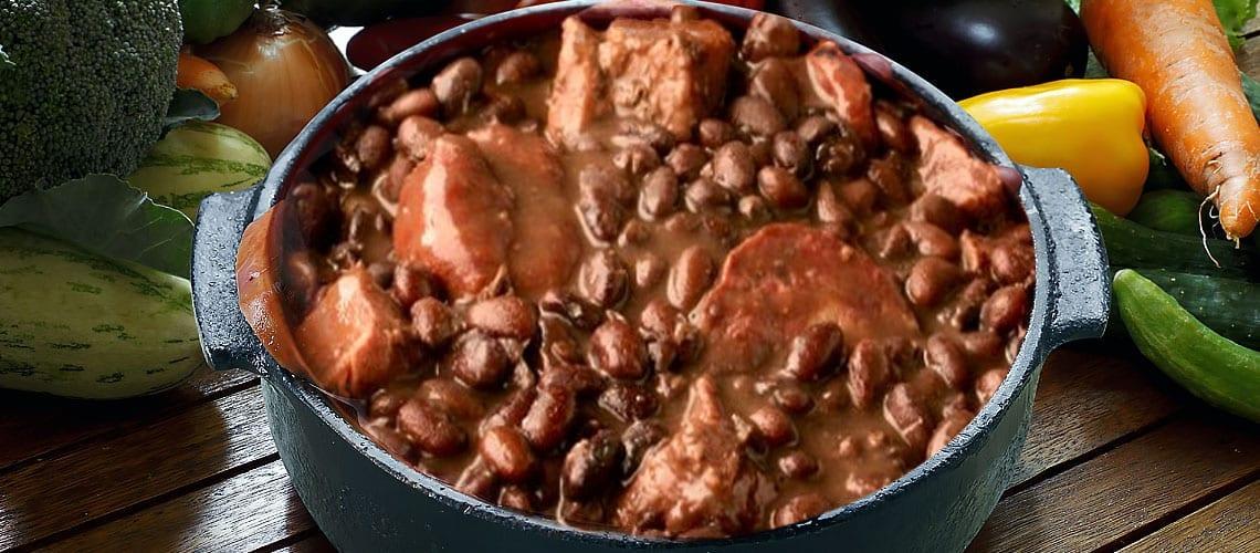 National Dish of Brazil Feijoada