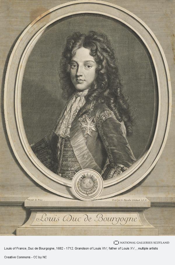 Louis De France (1682-1712) : louis, france, (1682-1712), Louis, France,, Bourgogne,, 1712., Grandson, Father, National, Galleries, Scotland
