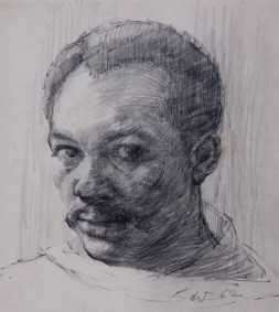 Barrington Watson - Self Portrait (1962) Collection: NGJ
