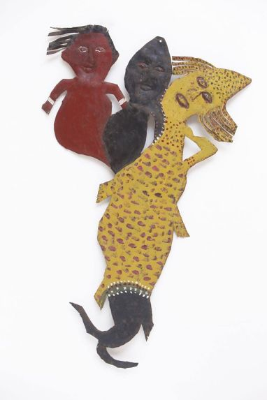 Reginald English - River Mother and Her Children (1992=5), Wayne and Myrene Cox Collection.