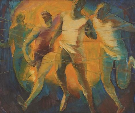 Barrington Watson - Athlete's Nightmare (1966), A.D. Scott Collection, NGJ