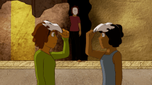 Danielle Blaize (Trinidad and Tobago) - Dance of the Daring (2015, animation still)