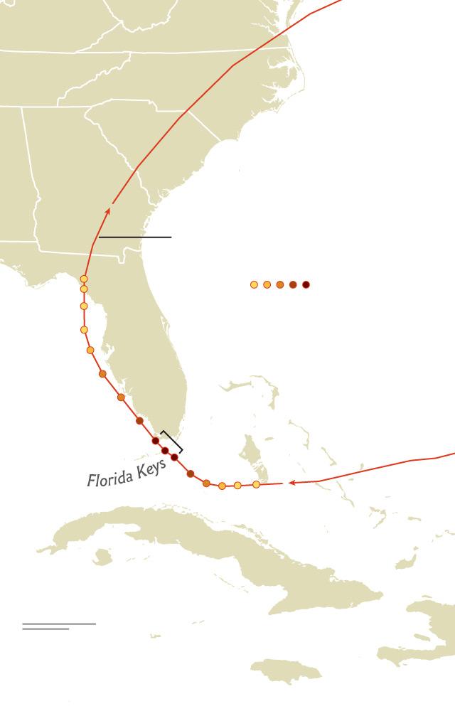 Hurricane Irma Path Map : hurricane, Story, Labor, Hurricane, Florida