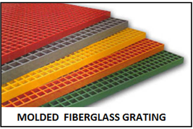 Fiberglass Trench Cover Grating