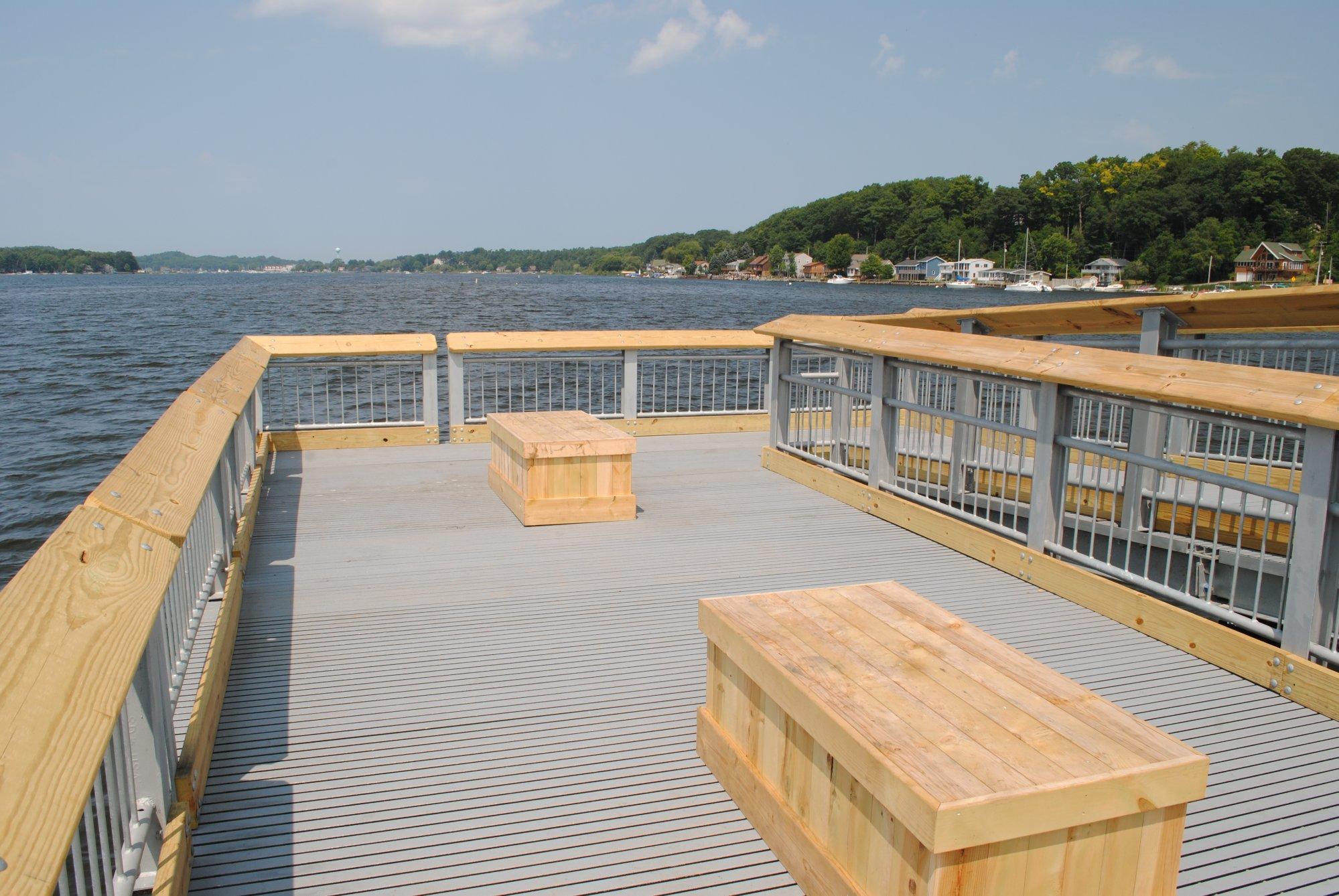 Nonslip Marina Walkway Surfaces  FRP Grating and Non