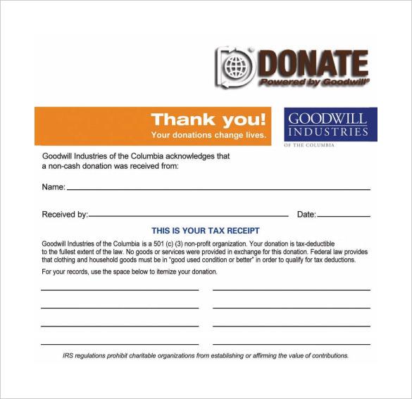 501c3 Tax Deductible Donation Letter