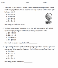 Basic Algebra Worksheets | Template Business