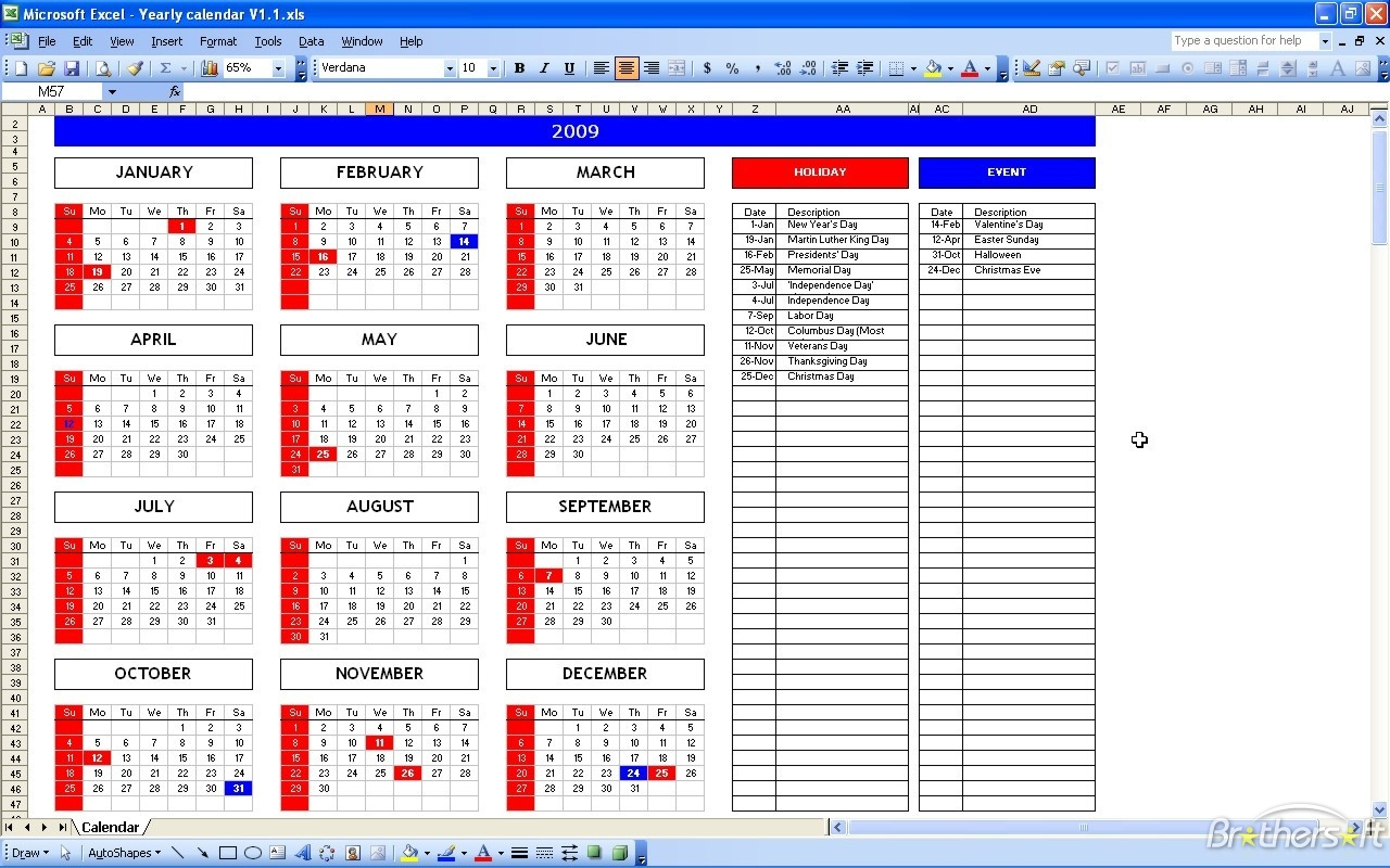 Every Day Schedule Template Word