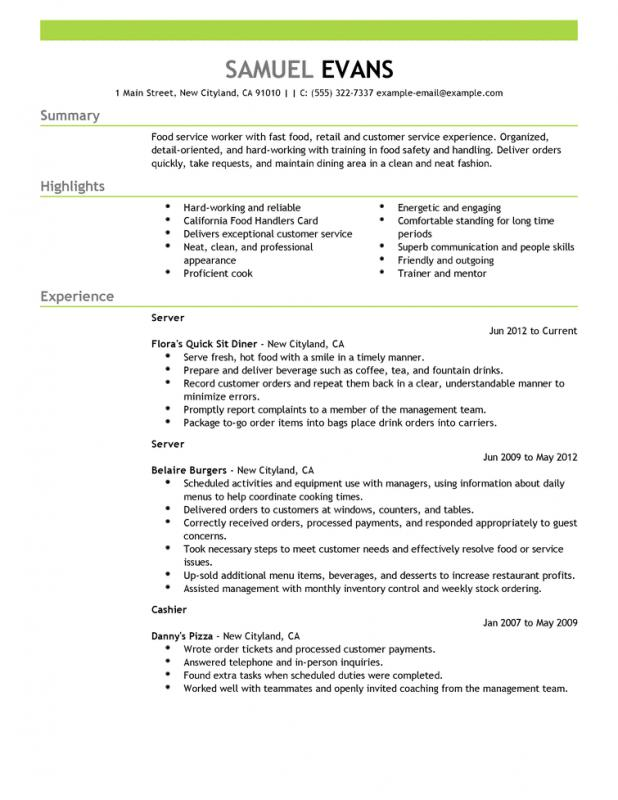 Mba Resume Sample Template Business