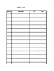 Monthly Budget Worksheet Excel   Template Business