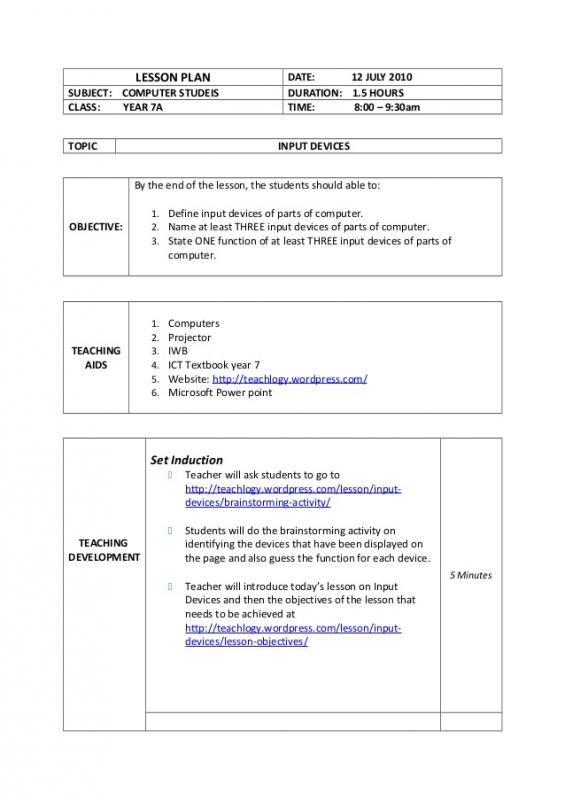 Pe Lesson Plan Template Template Business