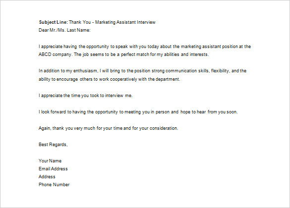 template to email resume to recruiter
