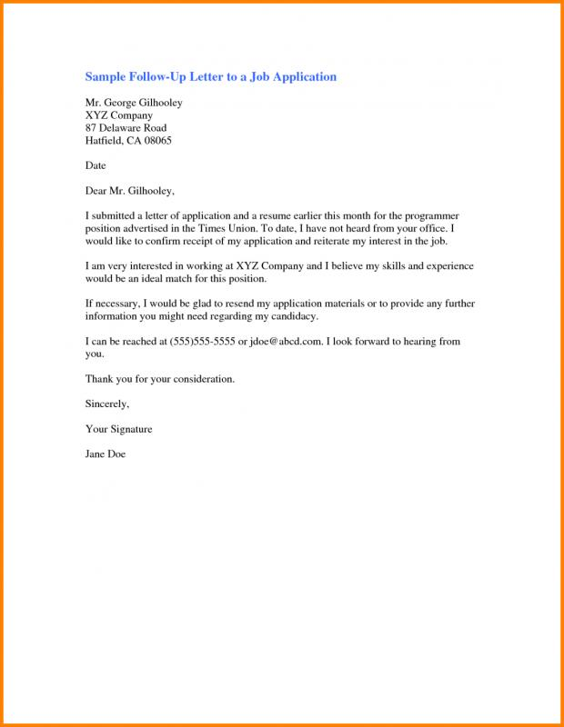 Job Interview Follow Up Email Template Follow Up Resume Email Sample