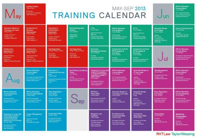 Training Schedule Template Free Download