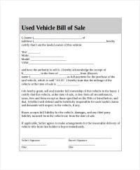 Virginia Auto Sales Tax. Used Car Bill Of Sale Template ...