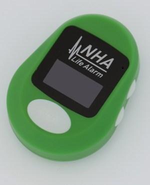 green NHA pendant