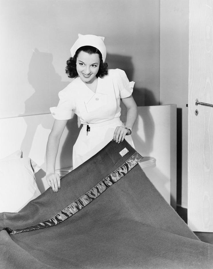 Old fashioned nurse