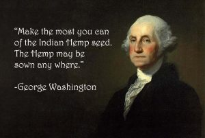George Washington hemp seed