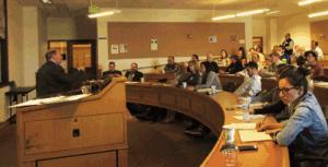 David Bush updates seminar attendees on upcoming changes to the Colorado hemp regulations