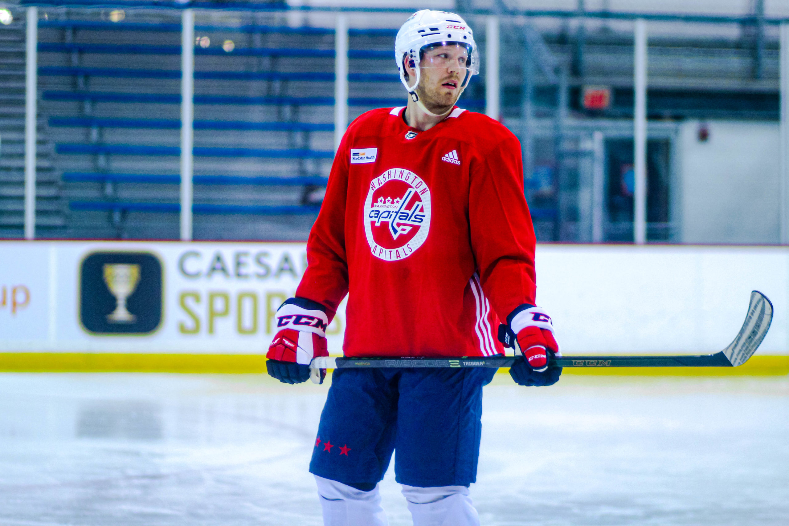 Capitals Training Camp Notebook: Eller Leaves With Injury, Lapierre Digs In At Center