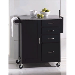 granite top kitchen cart sink spray hose replacement evans 2700 a more than furniture store
