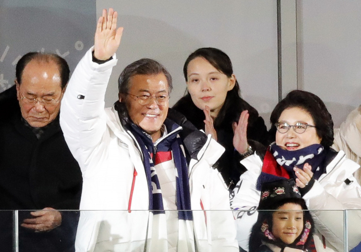 Hasil gambar untuk The Pyeongchang Olympics is North Korea's winter offensive