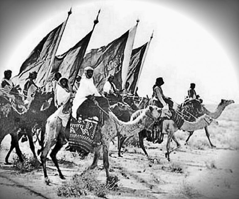 Image: Ikhwan en Arabie Saoudite. Domaine public.