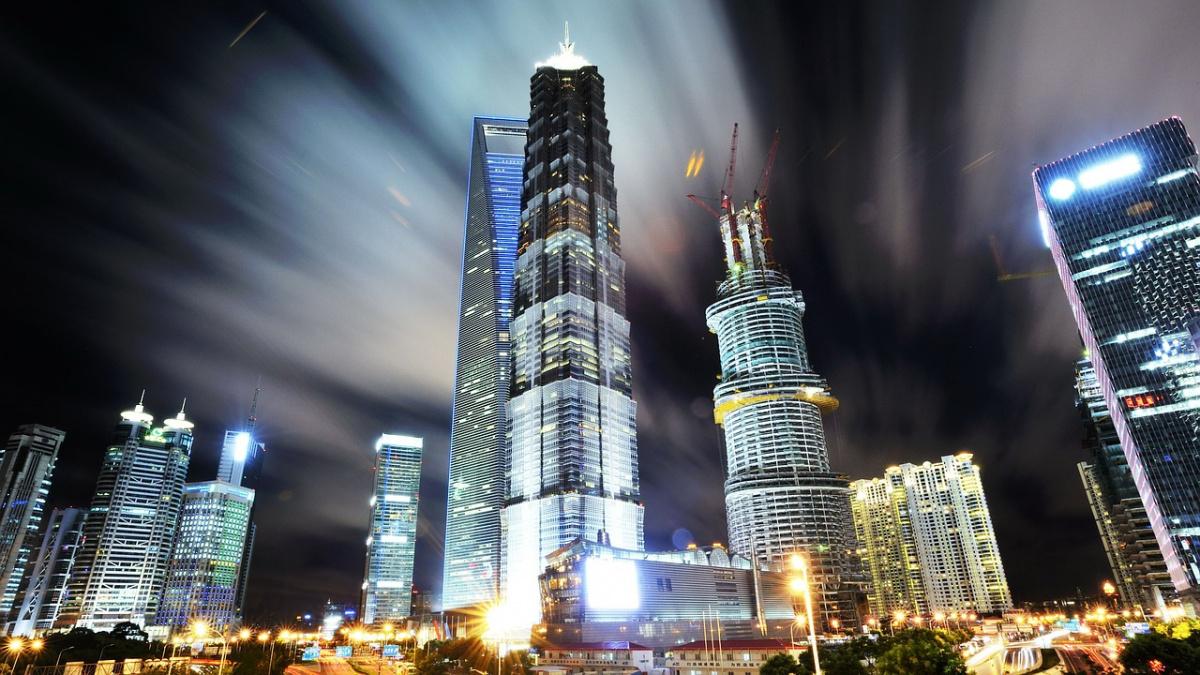 Shanghai at night. Pixabay/Public domain