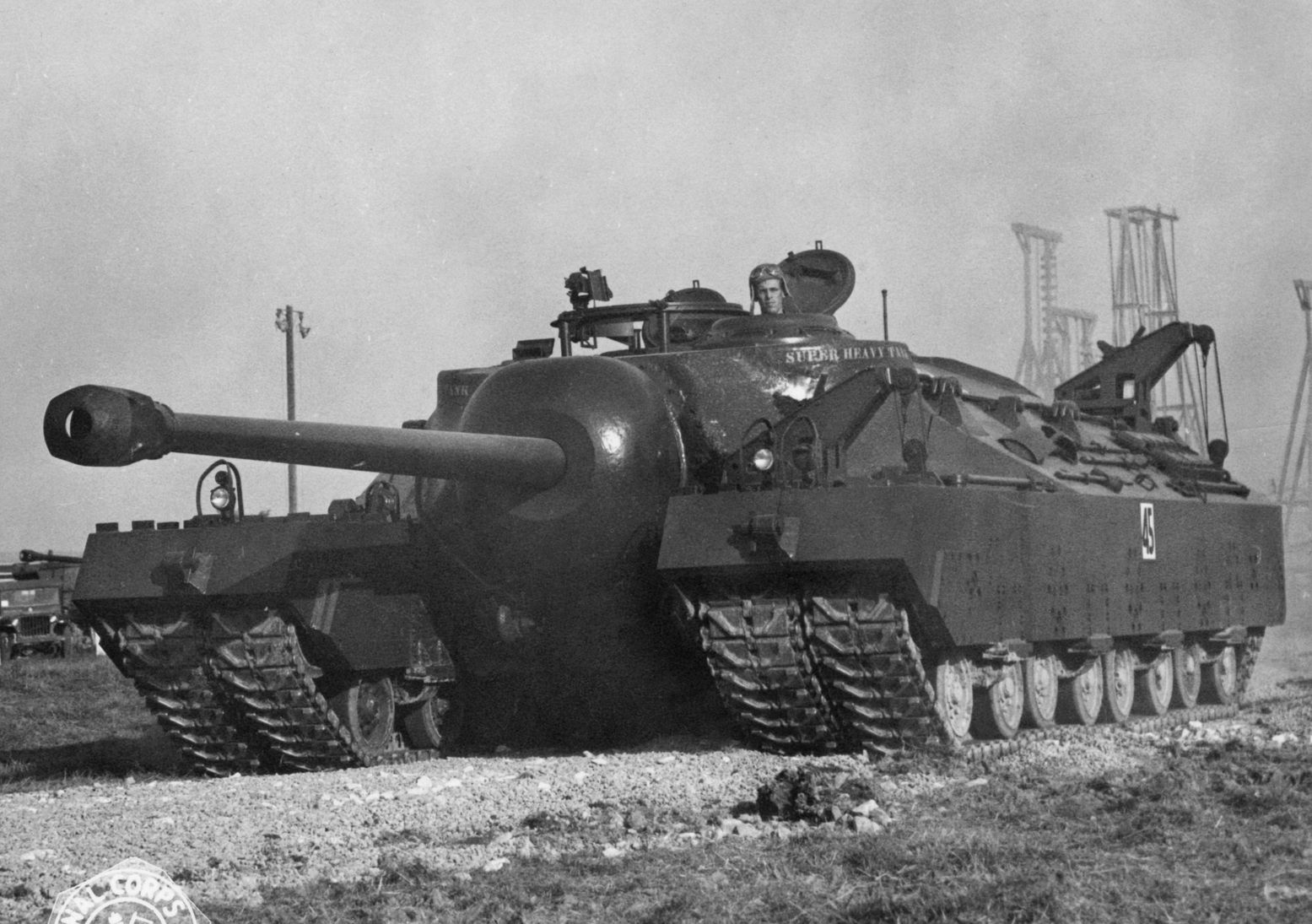 Why America S World War Ii T 28 Super Tank Never Actually