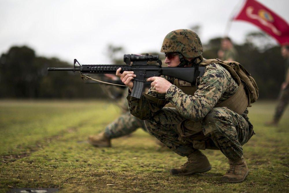 u s marines vs