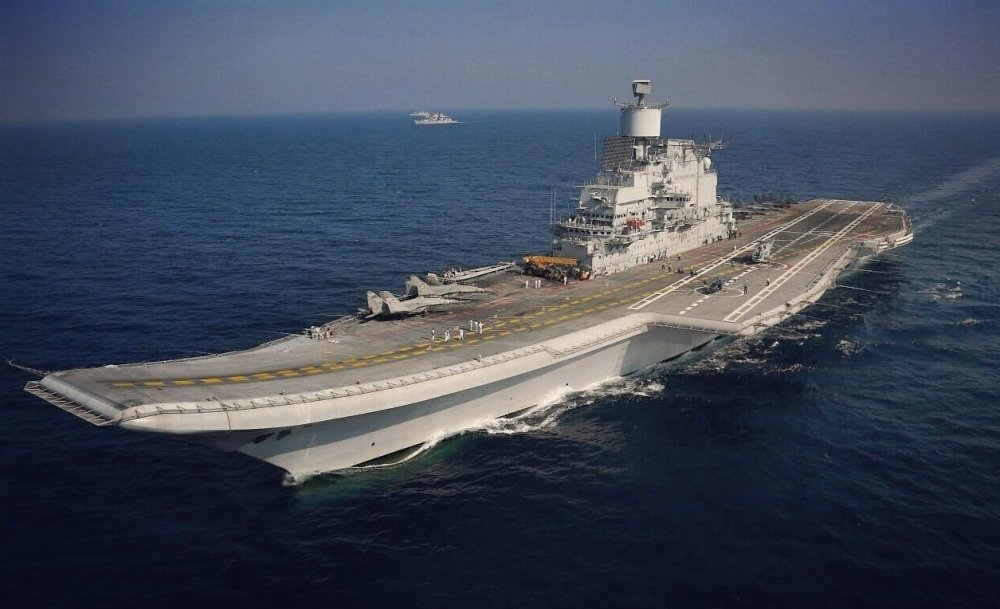India's Russian-Made Aircraft Carrier Is a Total Disaster. Here's Why