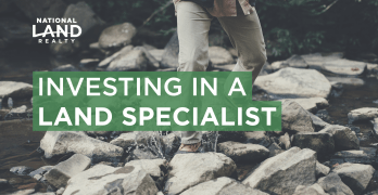 Investing in a Land Specialist