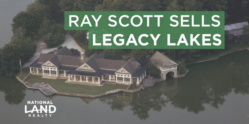Ray Scott Sells Legacy Lakes