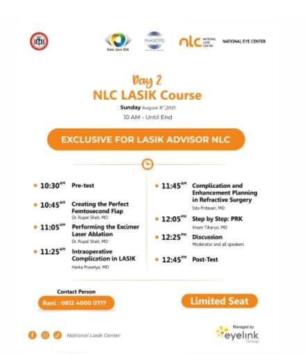 Launching NLC Lasik Center  - Day 2