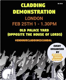 Cladding Demonstration London 25th February 1pm