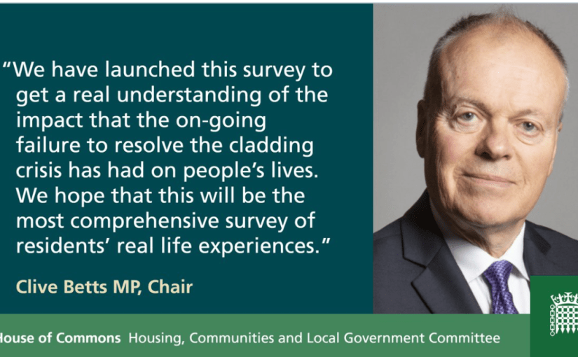 HCLG Committee launches survey on dangerous cladding