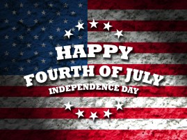 happy fourth of july - independence day