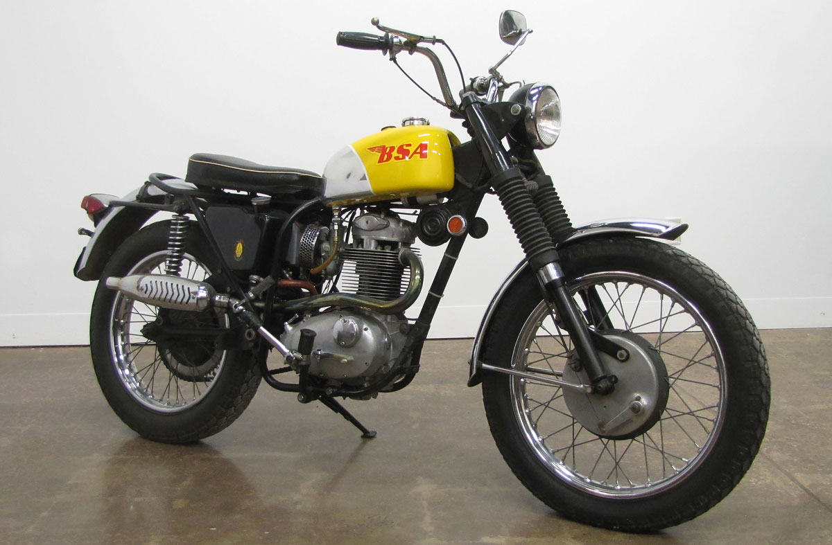 hight resolution of 1969 bsa b44 victor special