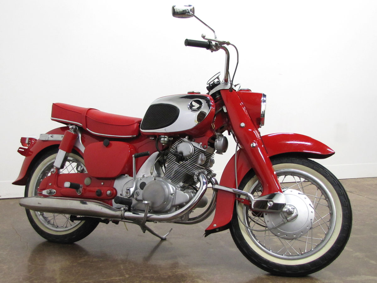 hight resolution of 1963 honda dream ca77