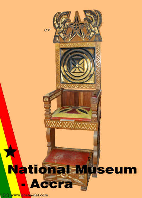 stool chair ghana portable massage chairs of state by kojo bambir national museum parliament president africa west