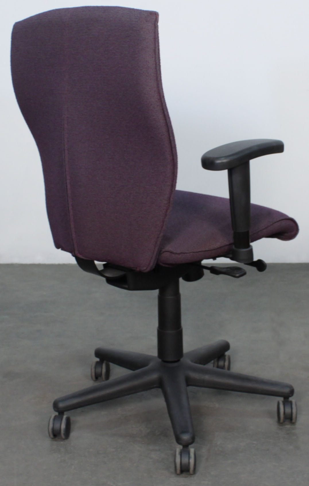 allsteel office chair chairs and ottoman energy used task purple national